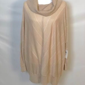 NWT 89th + Madison Rose Gold Dolman Sleeve Sweater